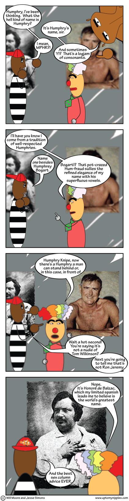 Humphry's Name comic