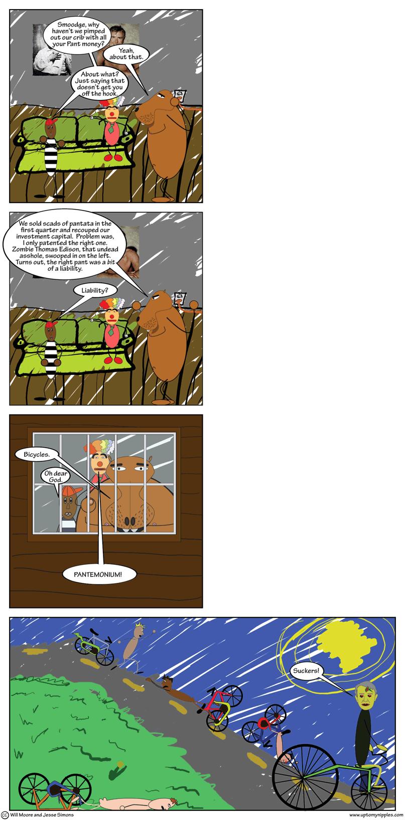 The Pant Profit comic