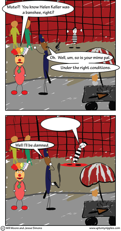 The Mime License comic