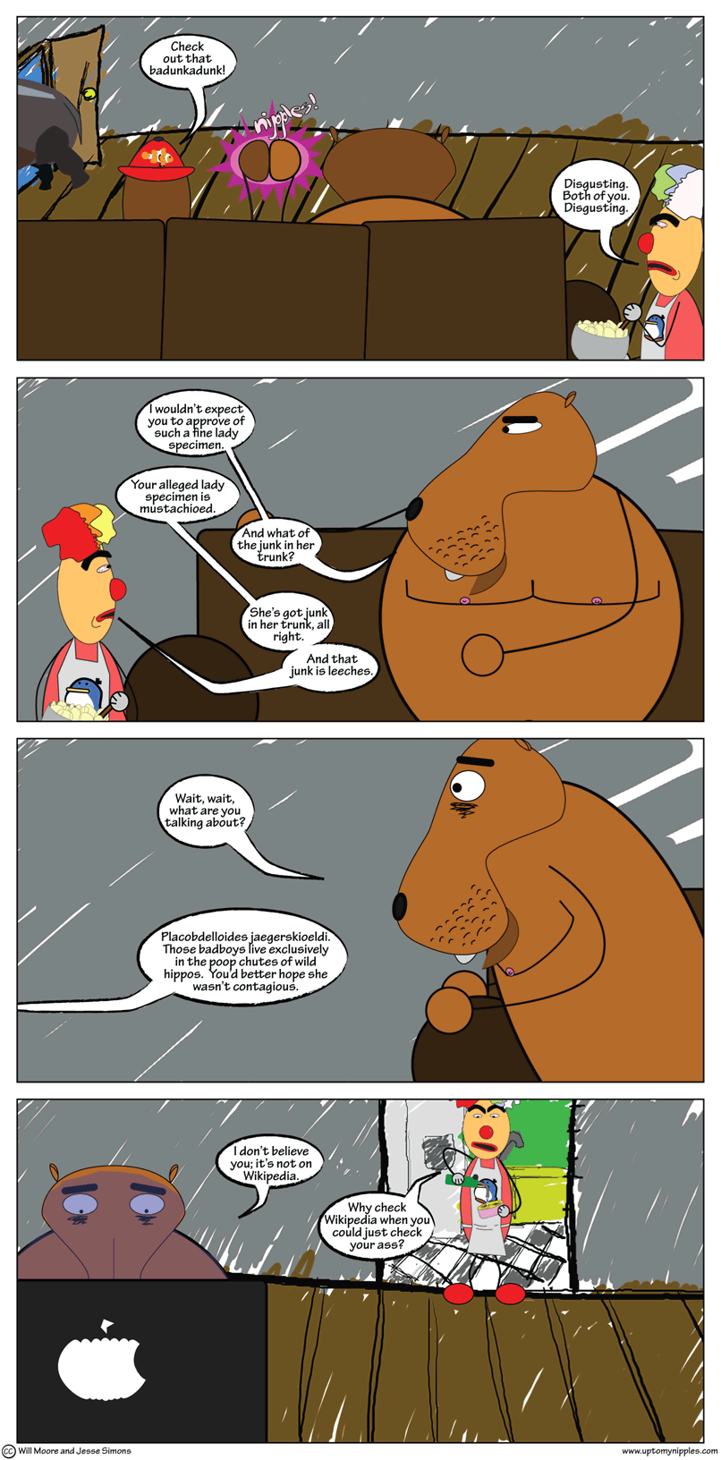 The Junk in the Trunk comic