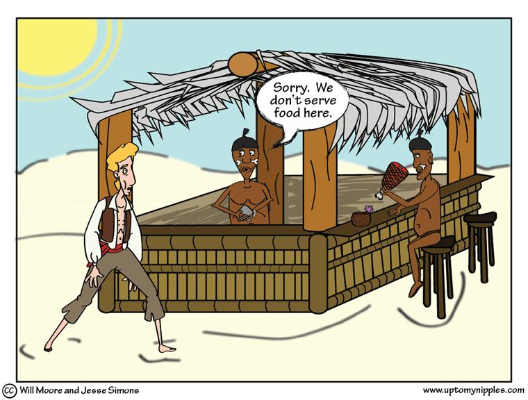 Cannibar comic