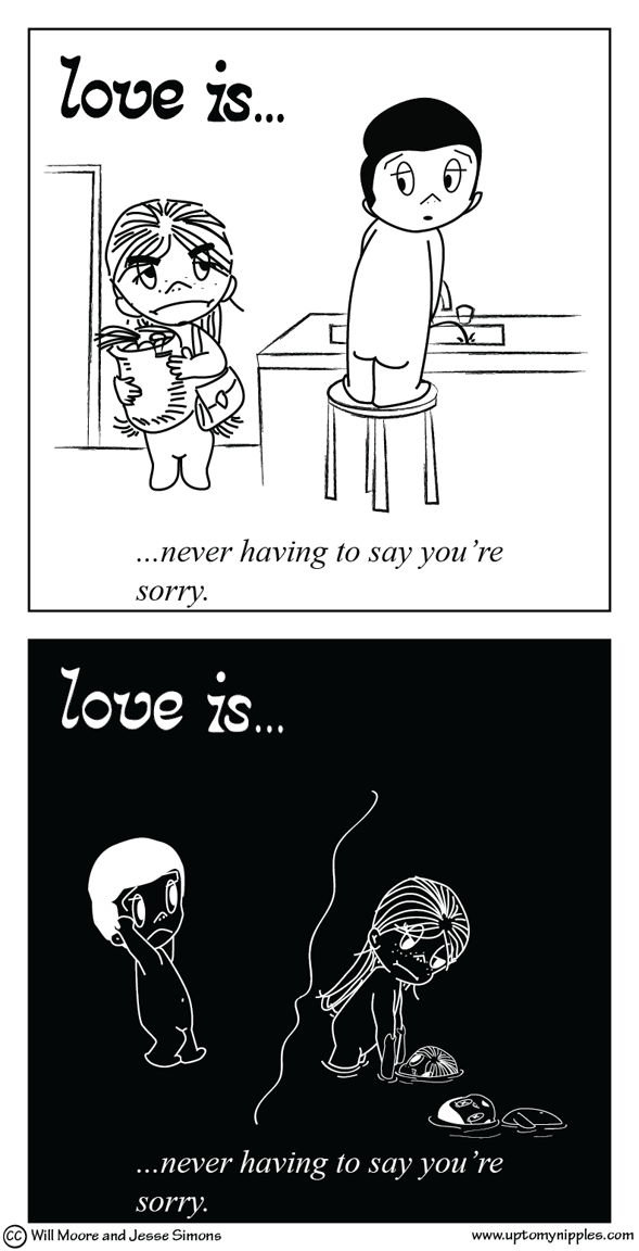 Love is a Double Take comic