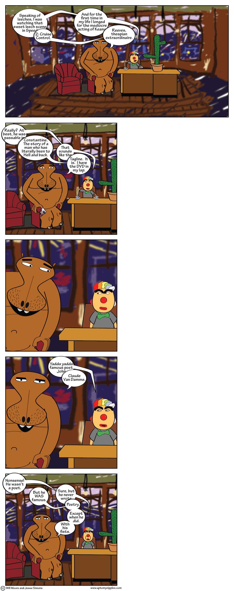 JCVD comic