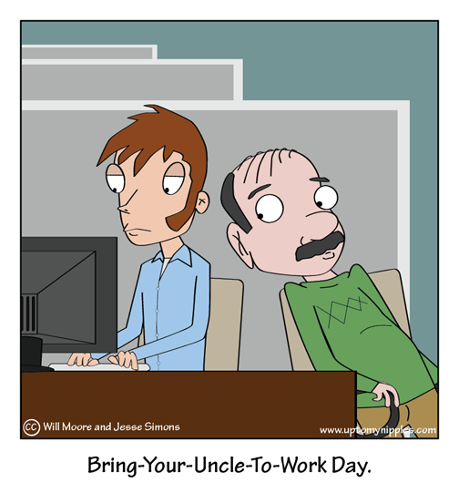 Work Day comic