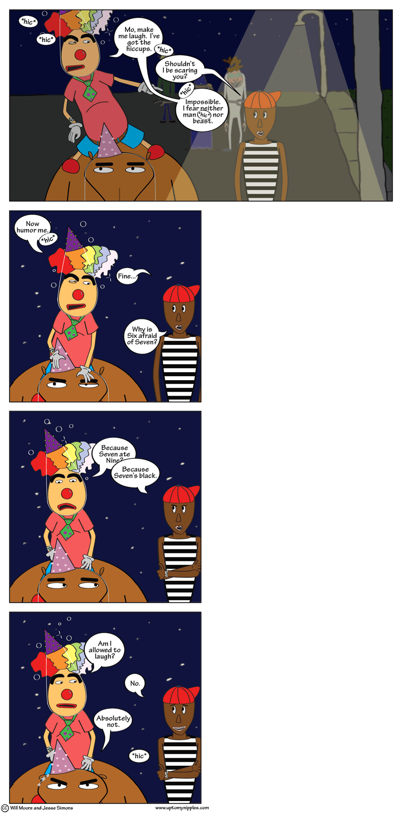 The Hiccoughs comic