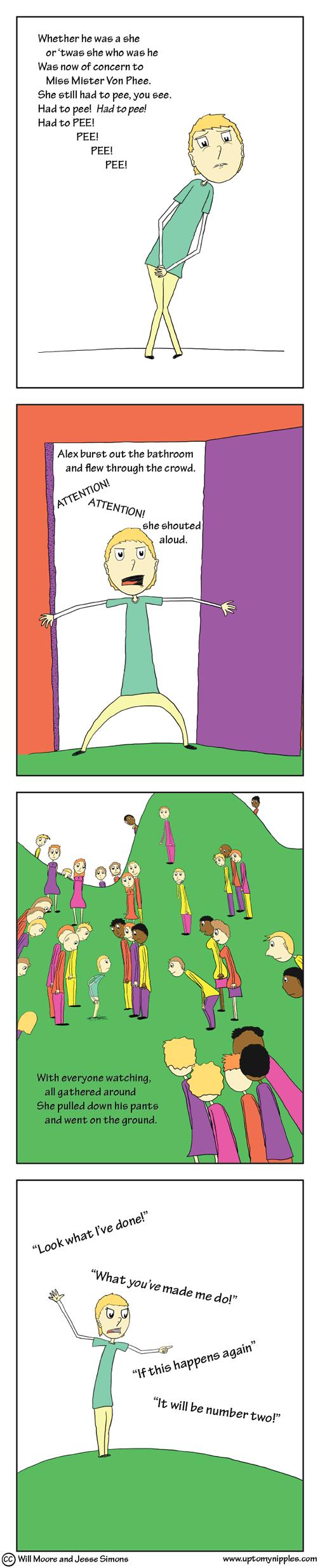 Alex (3/3) comic