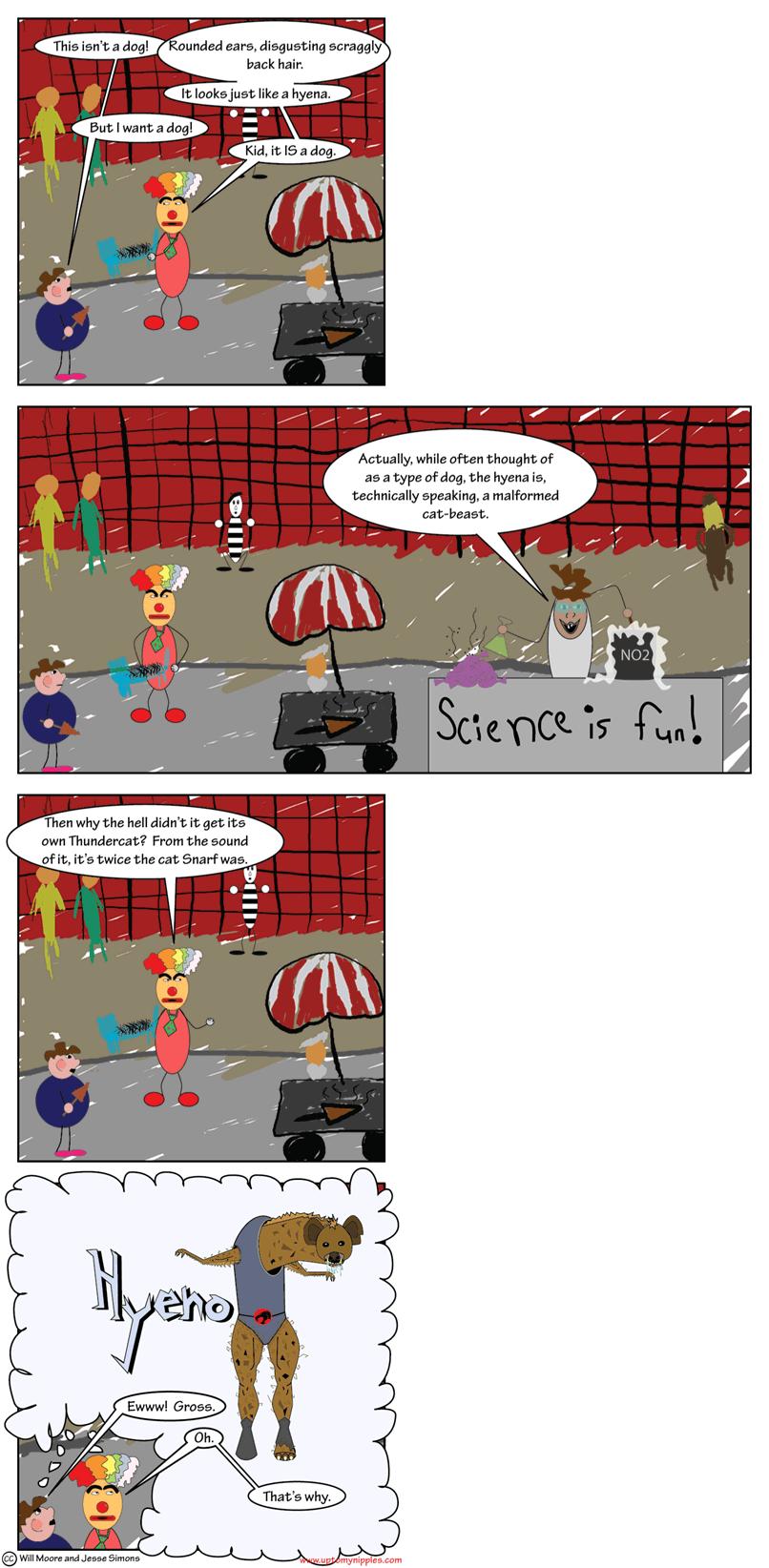 The Hyena comic