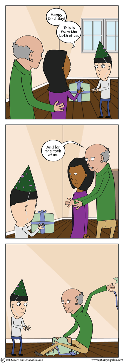 The Gift of Giving comic