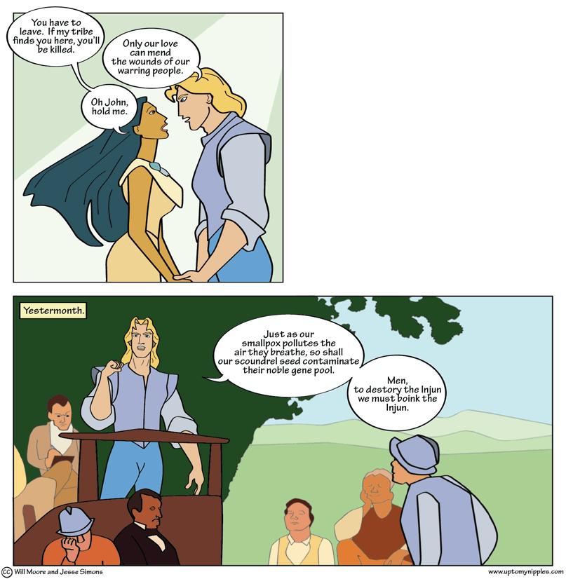 Poke-hontas comic