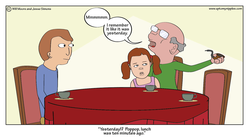 Memories comic