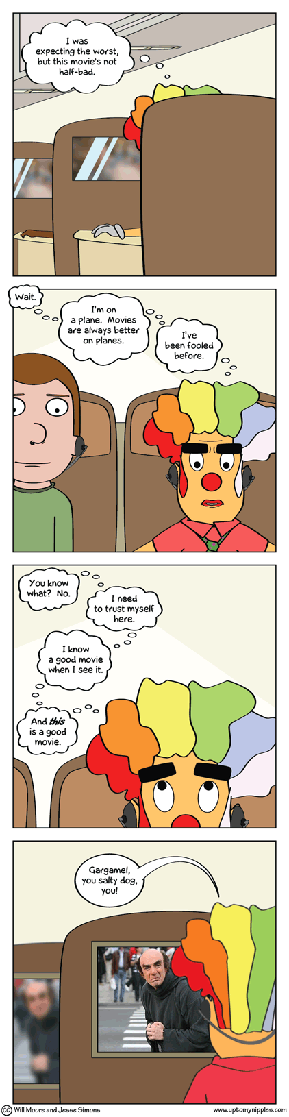 Sense and Sense Abilities comic