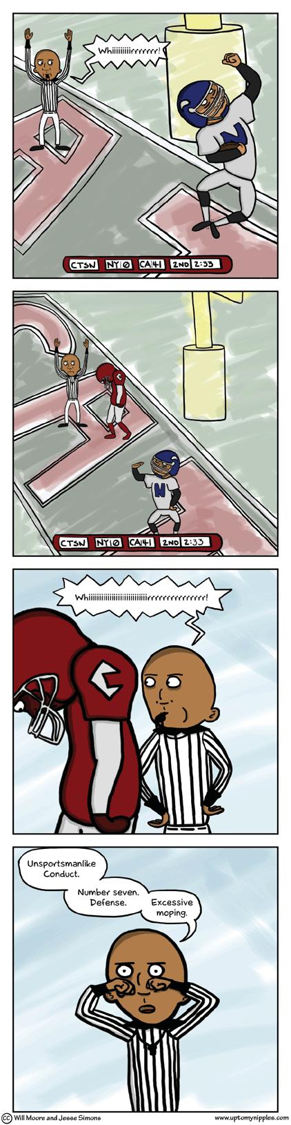 Super Bawl comic