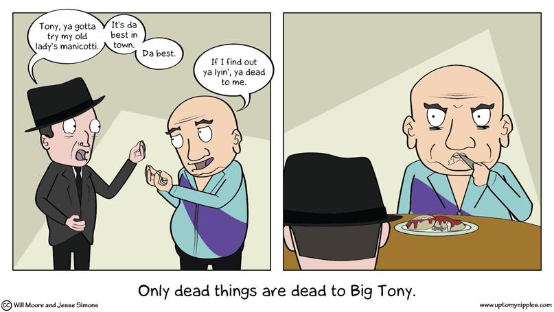 Manicotti comic