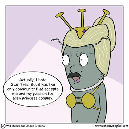 One Trek Mind comic