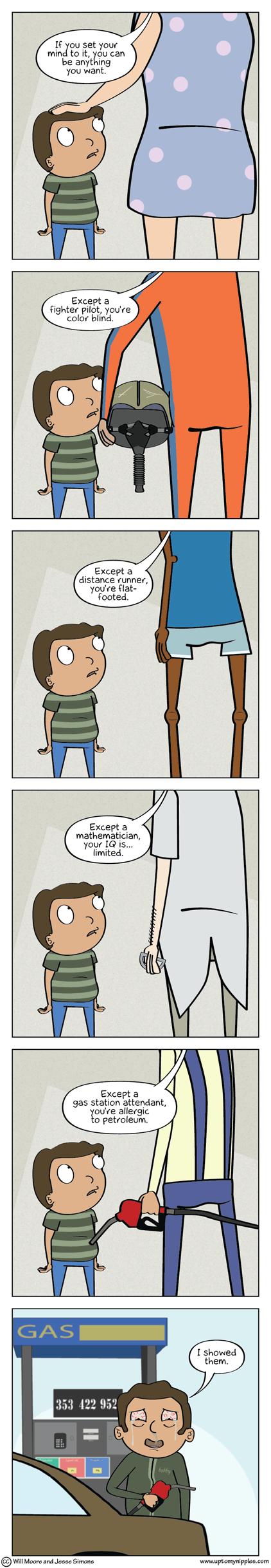 Damnbition comic
