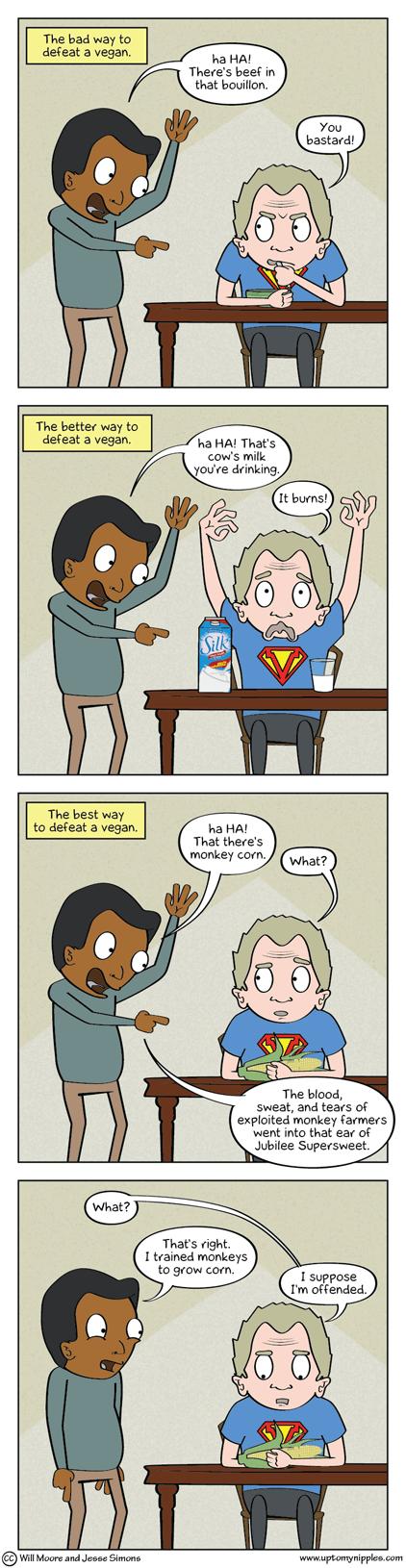 Cornivore comic