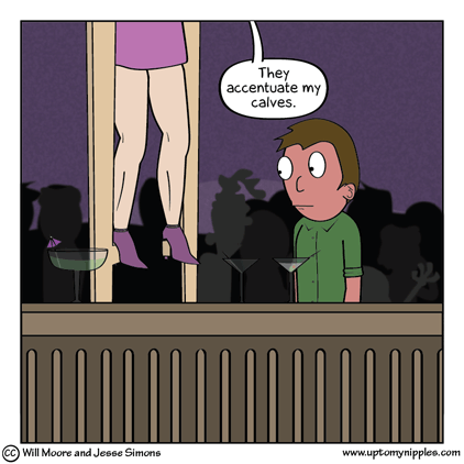 Stilted Conversation comic