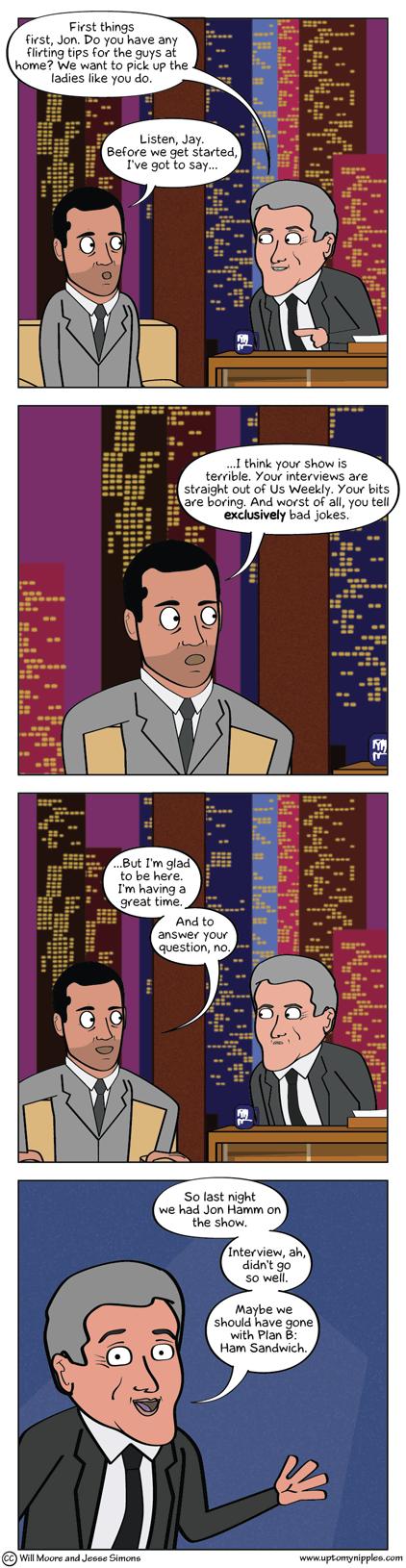 The Too-Trite Show comic