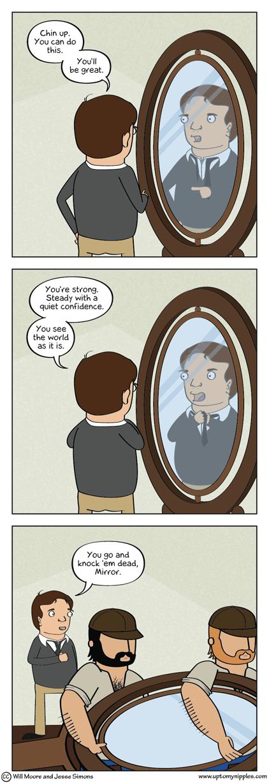 Personal Reflection comic