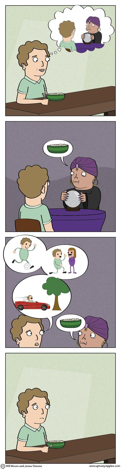 Cream of Clairvoyance comic