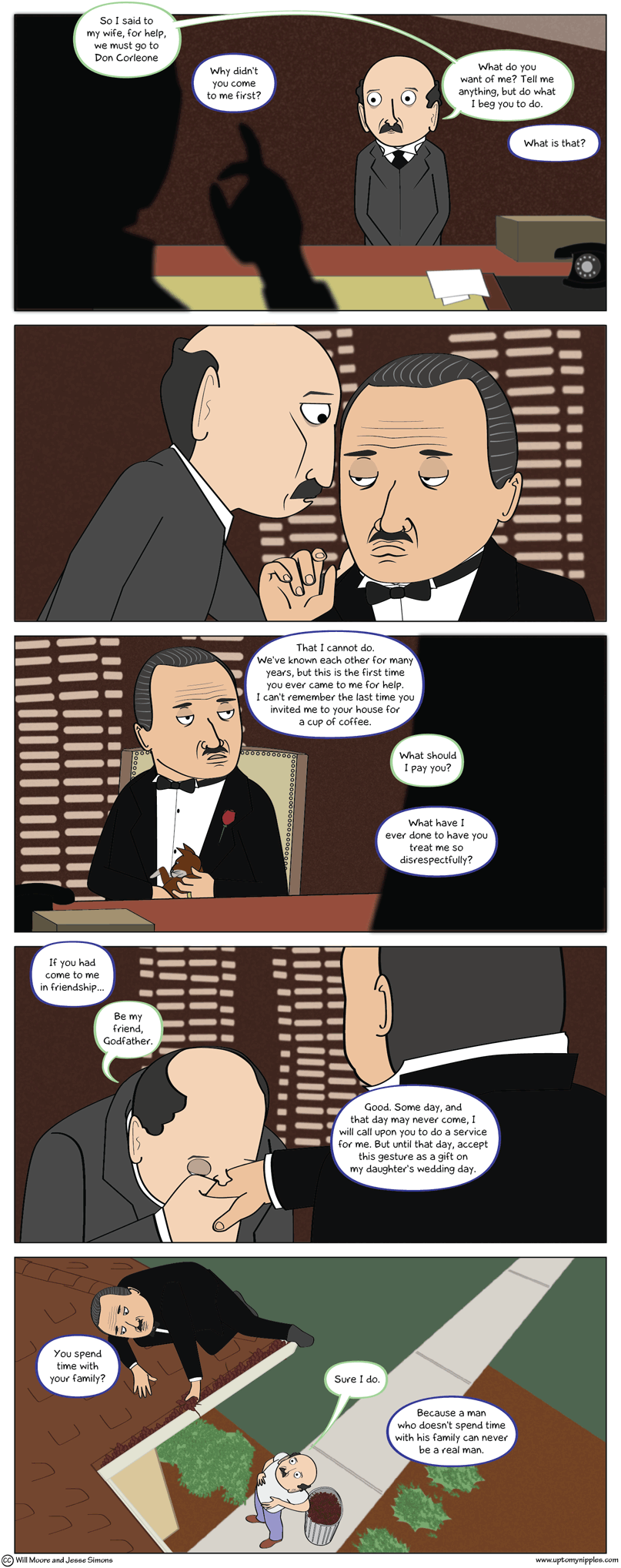 An Offer to Can Refuse comic