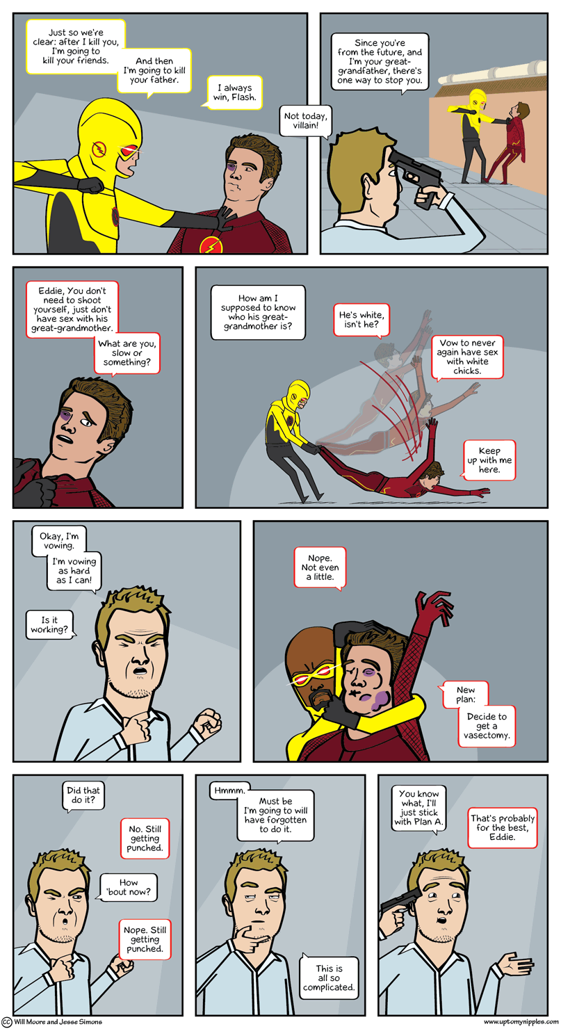 Flash in the Panel comic