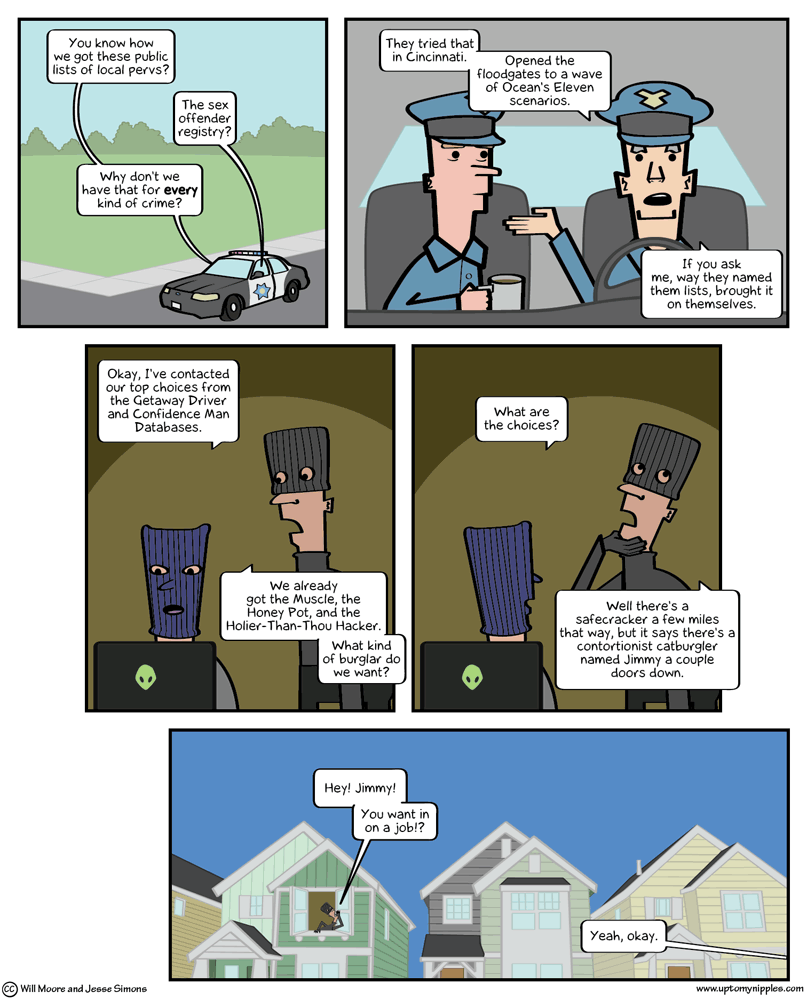 Offenders comic